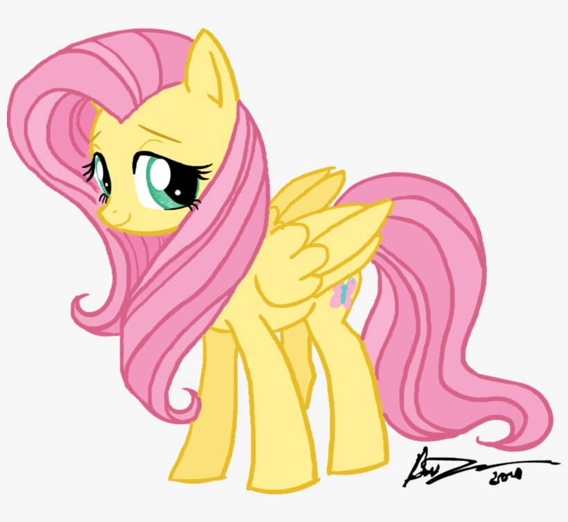 My Little Pony Chibi Fluttershy Free Transparent Png Download Pngkey