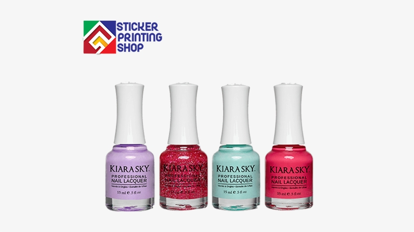 Nail Polish Bottle Label Printing - Kiara Sky Nail Polish - Iris And Shine N529, transparent png #2869596