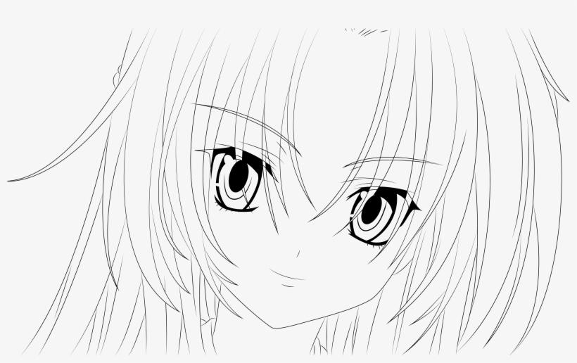 Transparent Anime Girl Face Template Gambarku