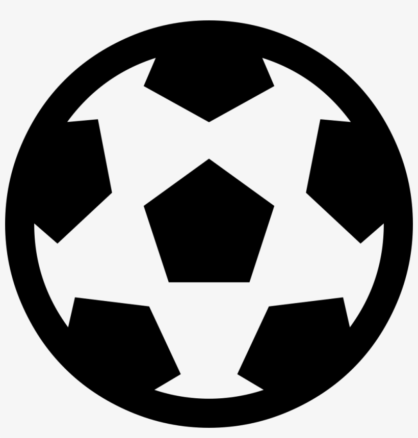 Futbol O Soccer Ball O Comments - Soccer Ball Icon Svg, transparent png #2871027