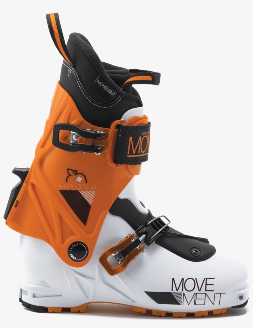Ski Touring Demand - Downhill Ski Boot, transparent png #2872182