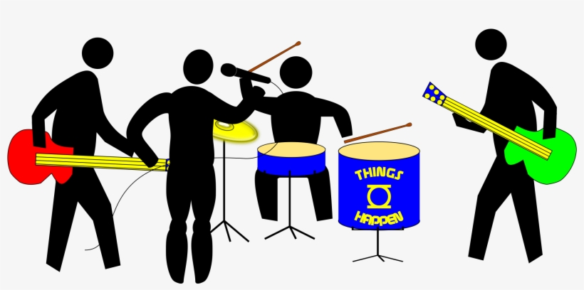 Musical Ensemble Rock Band Computer Icons Music Download - Never Underestimate An Old Man With Badminton, transparent png #2875950