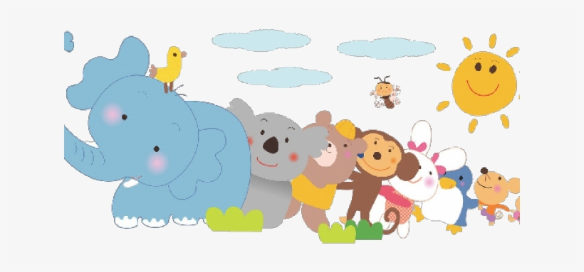 Cute Baby Cartoon Pictures - Baby Animal Cartoon Png, transparent png #2876835