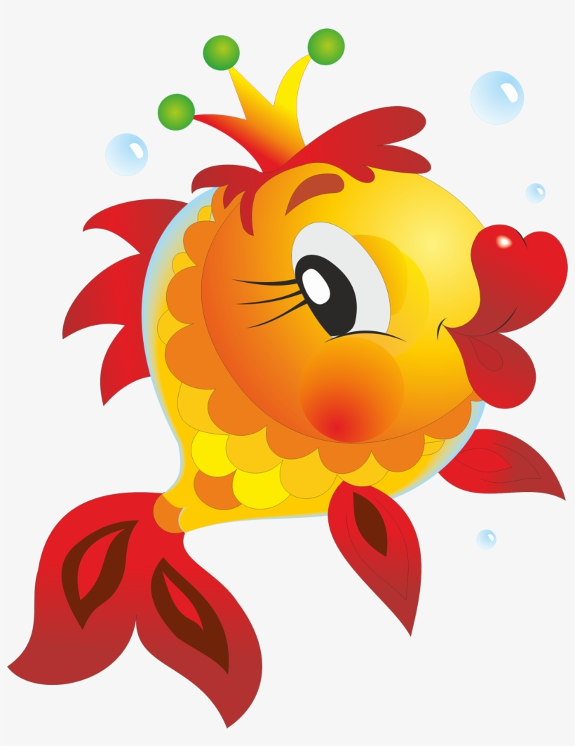 Big Fish Cartoon Cute Fish Free Transparent Png Download Pngkey