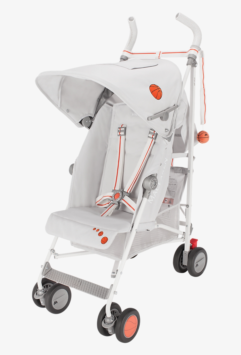 Maclaren Triumph Objects Of Design All Star Stroller - Maclaren 2016/2017 Triumph Stroller - All Star, transparent png #2883717