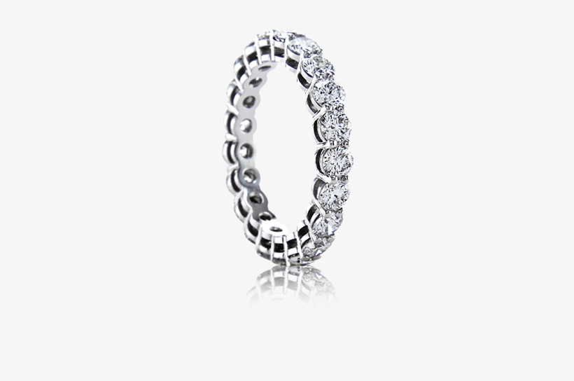 Perfect As A Wedding Or Anniversary Band, Select A - Diamond Band Wedding Rings, transparent png #2885182