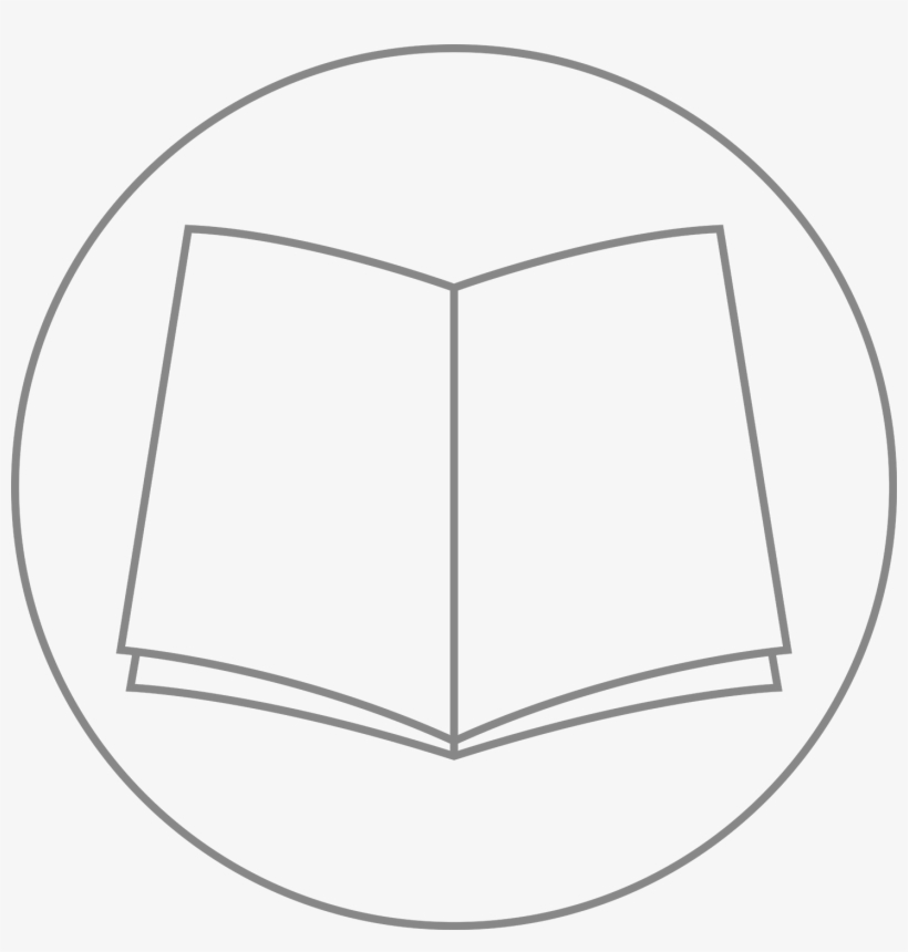 Book Logo - Book Logo White Png, transparent png #2886033