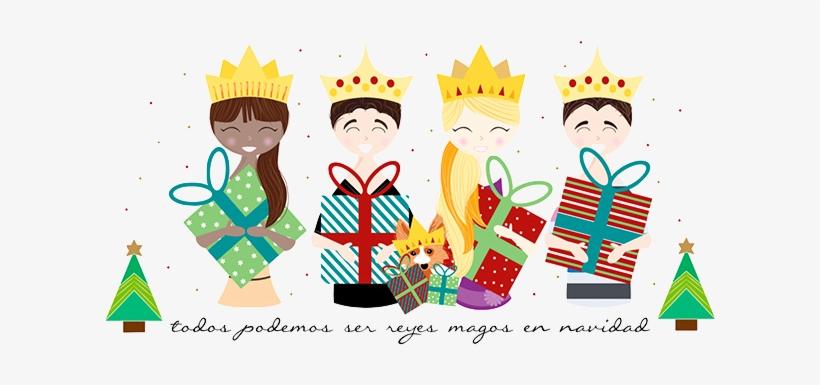 Reyes Magos Solidarios Copia - Mi Mejor Regalo De Reyes Eres Tu, transparent png #2887095