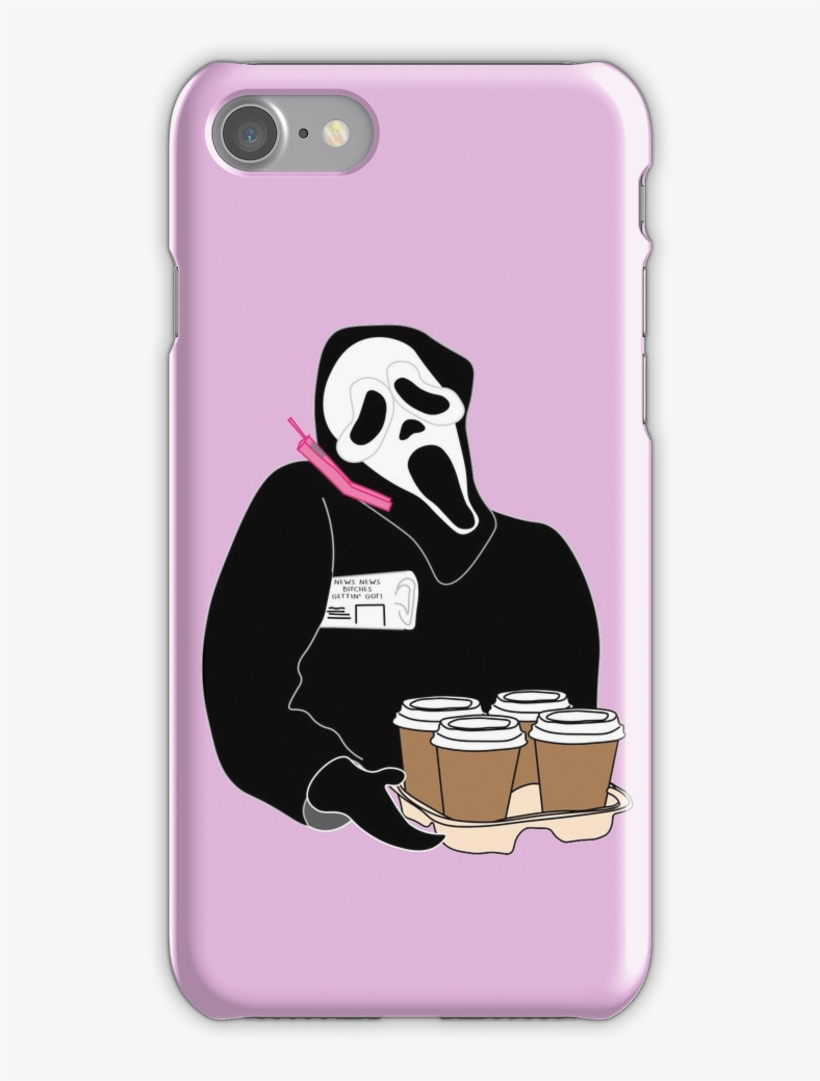 Ghost Face Iphone 7 Snap Case - Case Iphone 7 Billie Eilish, transparent png #2889050