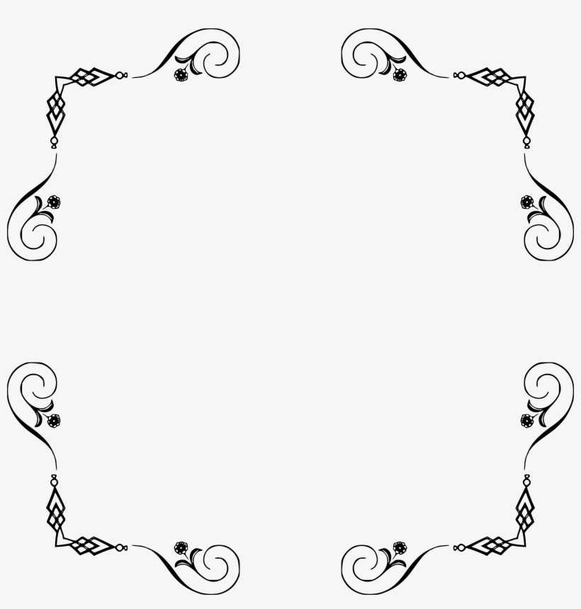 Elegant Frame Extended - Elegant Frames And Borders, transparent png #2890003