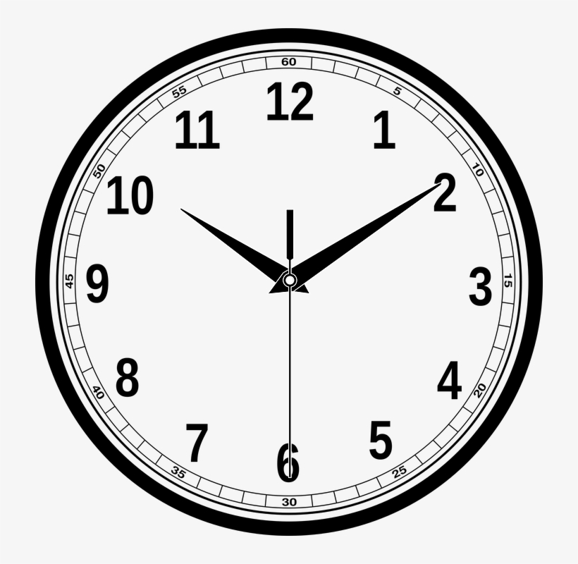 School Hours - 10 10 O Clock, transparent png #2891651