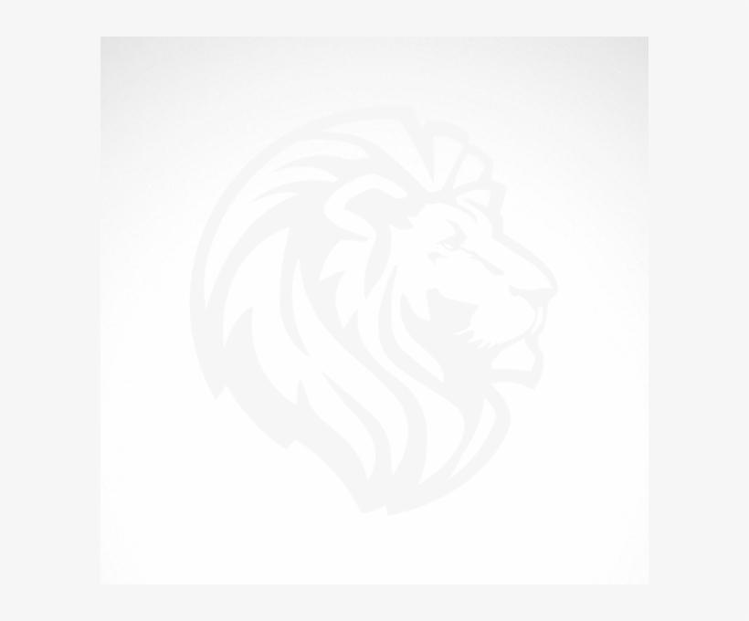 Simple Lion Head - Simple Lion Head Drawing, transparent png #2891945