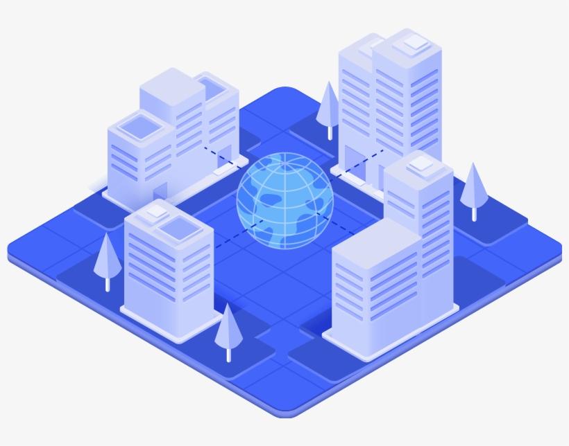 La Seguridad En Edificios Con Actividad Orientada Al - Sistema De Seguridad En Oficinas, transparent png #2894822
