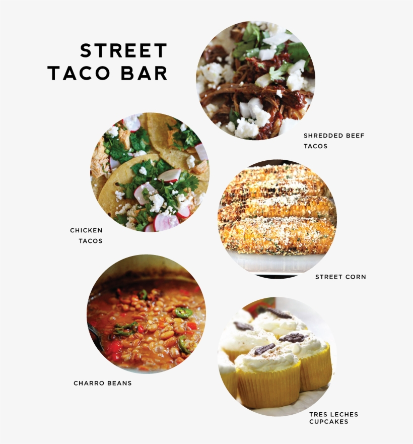 Fig Cotton - Street Taco Bar Ideas, transparent png #2894940