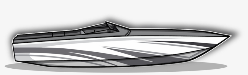 Speed Boat - Boat, transparent png #2896223