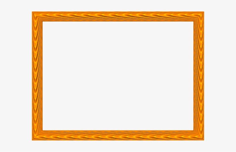Gold Elegant Fabric Fold Embossed Frame Rectangular - Gold Color Border Design, transparent png #2899970