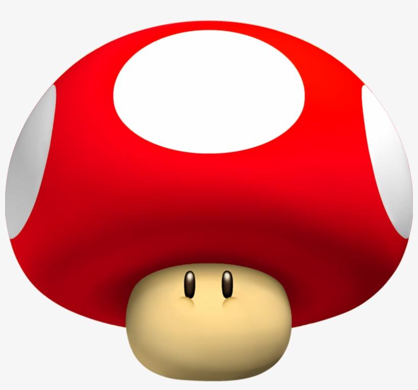 Super Mario Mushroom Png - Mega Mushroom Mario, transparent png #290373