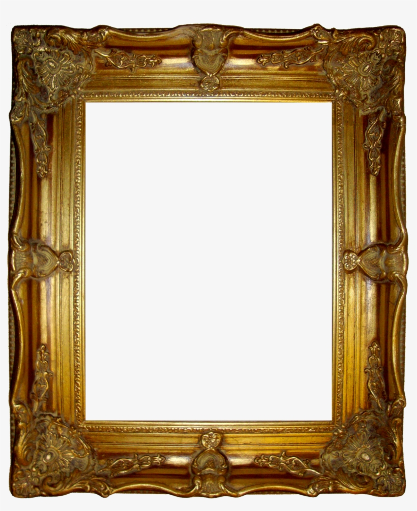 cc4ecf843fc Antique Vector Gold Vintage Frame - Old Golden Frame Png - Free ...