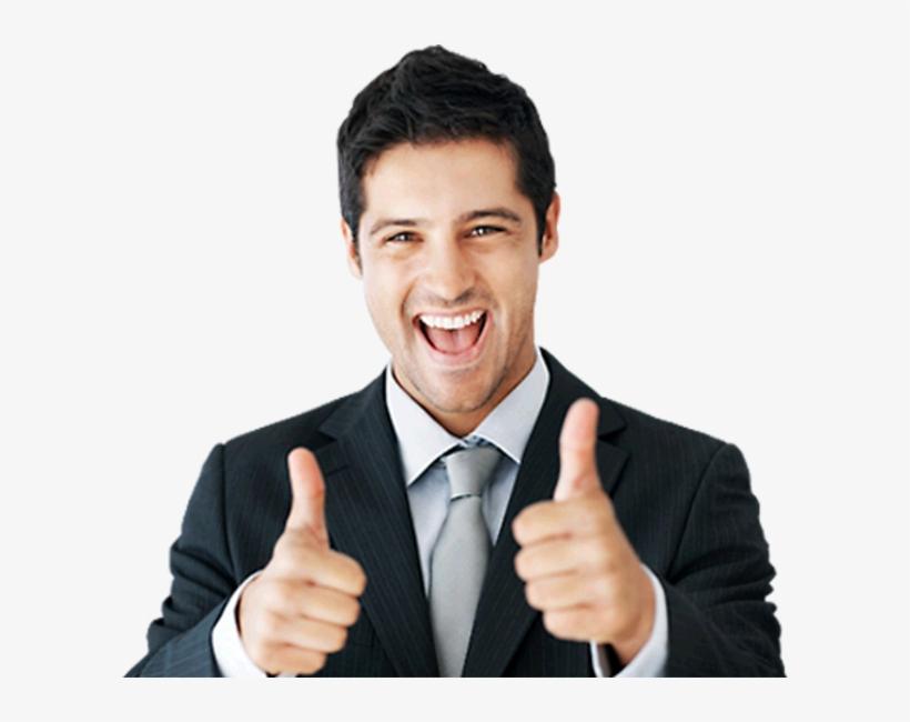 Man Thumbs Up - Guy With Thumbs Up Transparent, transparent png #291929