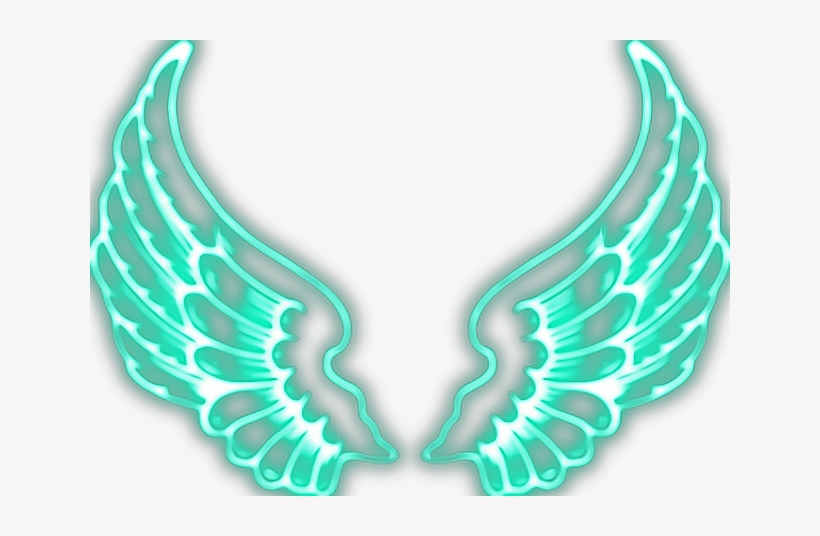 Report Abuse - Neon Wings Picsart, transparent png #292761