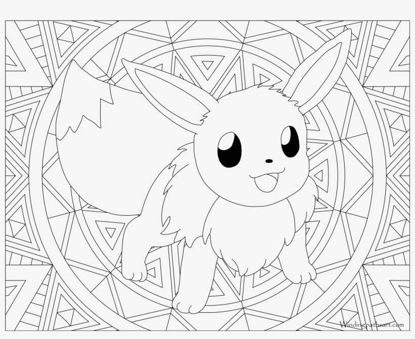 Eevee Evolutions Coloring Pages – azspring | 671x820