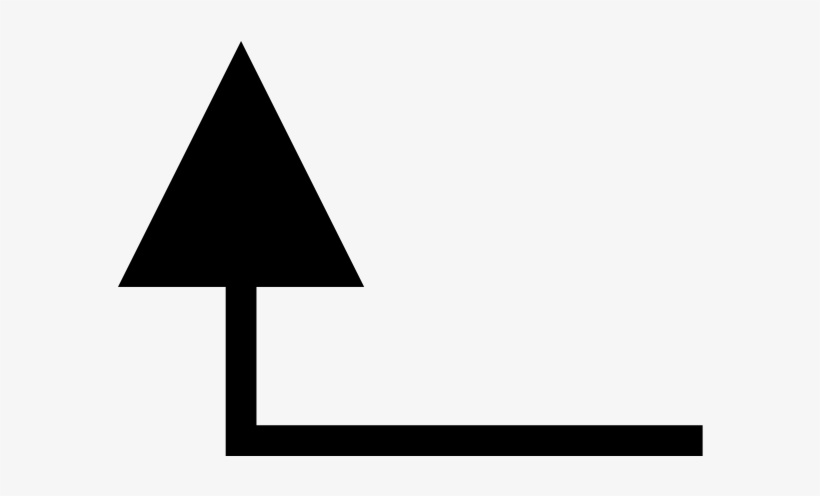 Arrow Pointing Up Left, transparent png #295017
