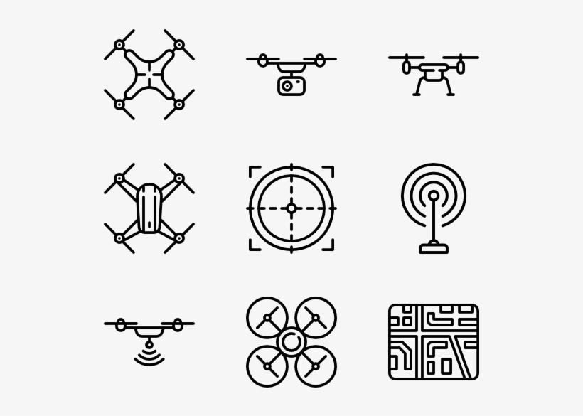 Quapcopter And Drones Resume Icons Png Free Transparent Png