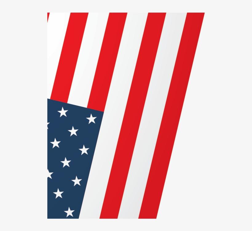 Us Flag Bg - American Flag 50 Stars, transparent png #296196
