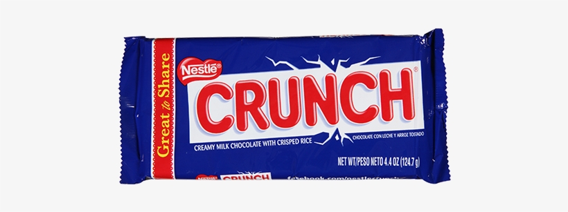 Nestle Crunch Giant Candy Bar - Crunch Giant 12 Count 4.4 Oz, transparent png #298750