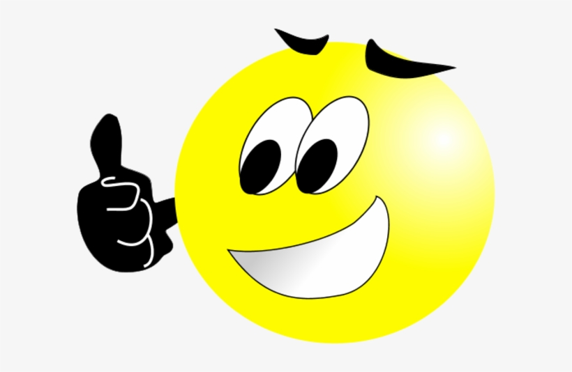 Smiley - Face - Thumbs - Up - Png - Smiley Face With Thumbs Up Transparent, transparent png #299707