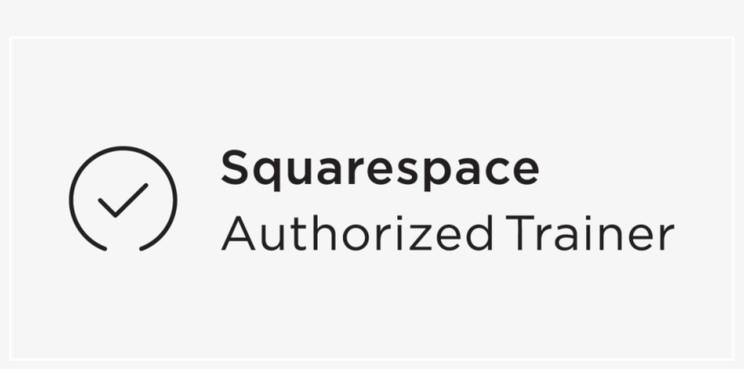 Authorized Trainer Badge Black - Squarespace Authorized Trainer Badge, transparent png #2902769