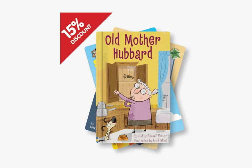 Book Band Green & Orange By Booklife - Old Mother Hubbard: Usborne First Reading, transparent png #2905657