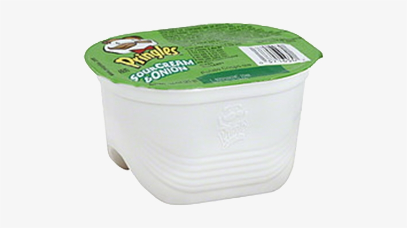 Pringles Snack Stacks - Pringles Potato Crisps, Sour Cream & Onion - 0.74, transparent png #2905707