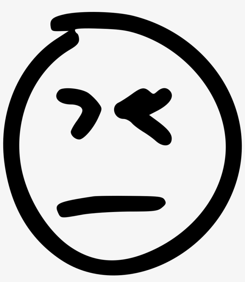 Dislike Bad Attitude Boring Comments - Facebook Icon In Circle, transparent png #2906326