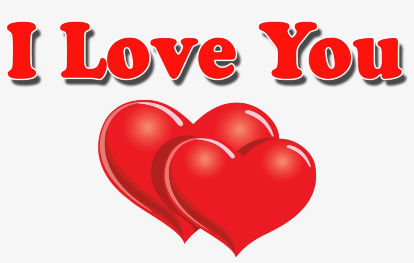 Love Text Png Image Background - Love You Images Hd, transparent png #2907128