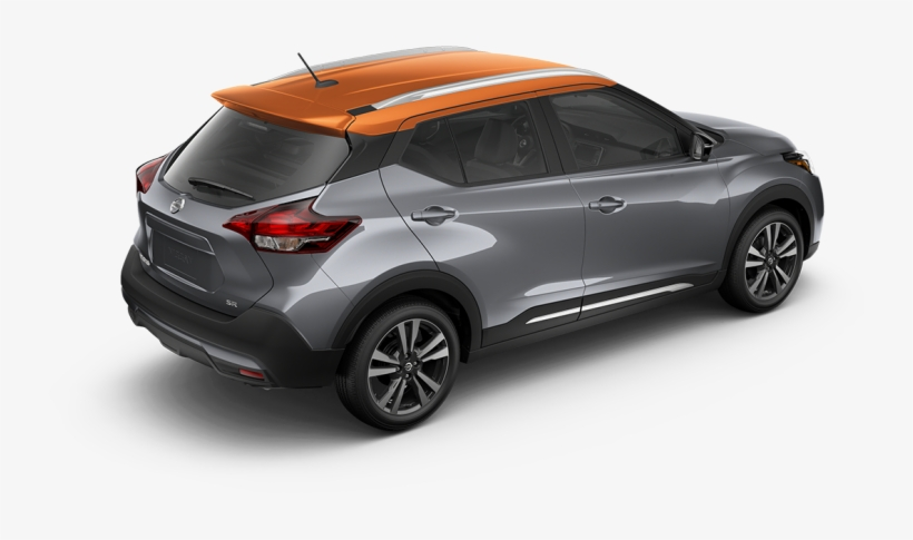 2018 Nissan Kicks In Gun Metallic And Monarch Orange 2018 Nissan