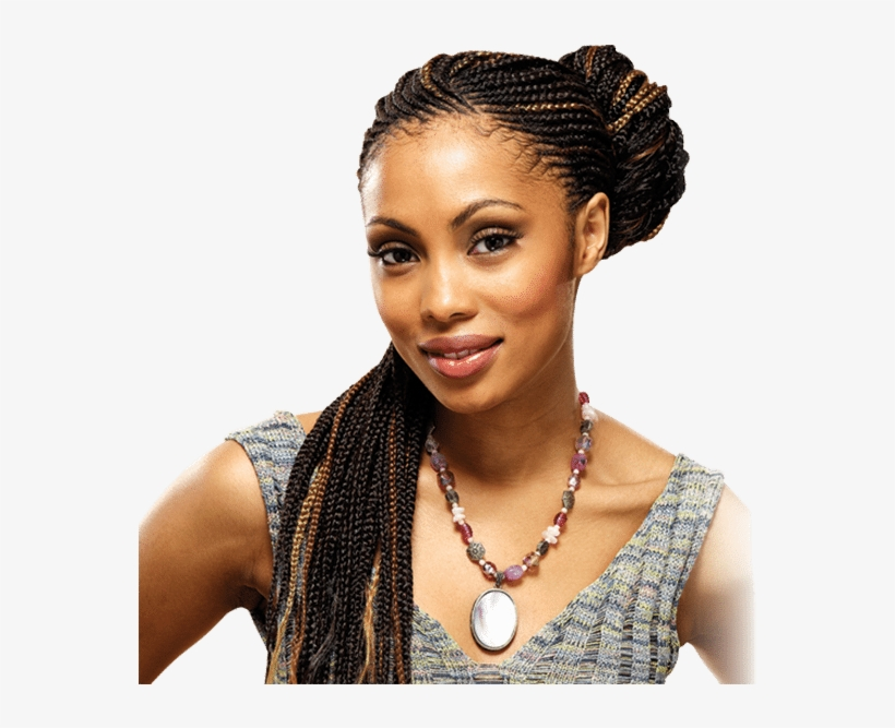 African Hair Bra - Hair Braiding Hd Salon Kenyan Styles Braids, transparent png #2909907