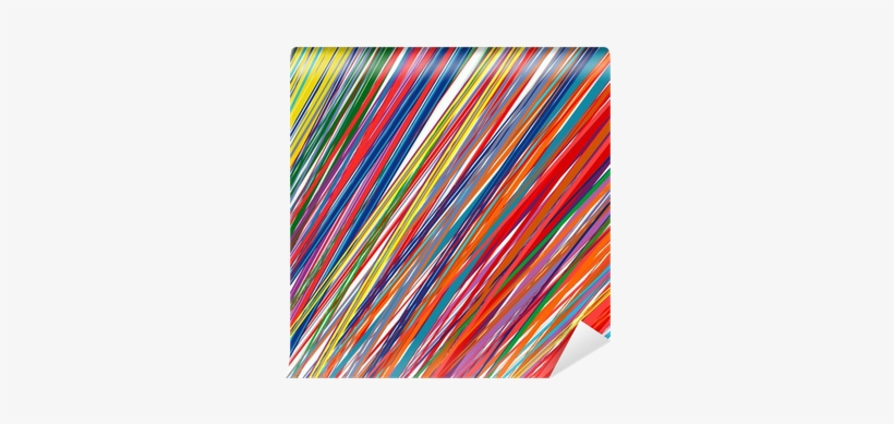 Abstract Color Stripes Background Wall Mural Pixers