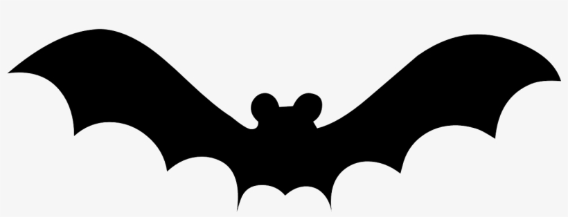 Coloring Pages - Halloween Window Silhouettes Bats, transparent png #2912567