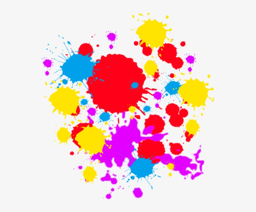 Free Download Colorful Spray Paint Splatter Png Clipart - Colorful Spray Paint Splatter Png, transparent png #2913302