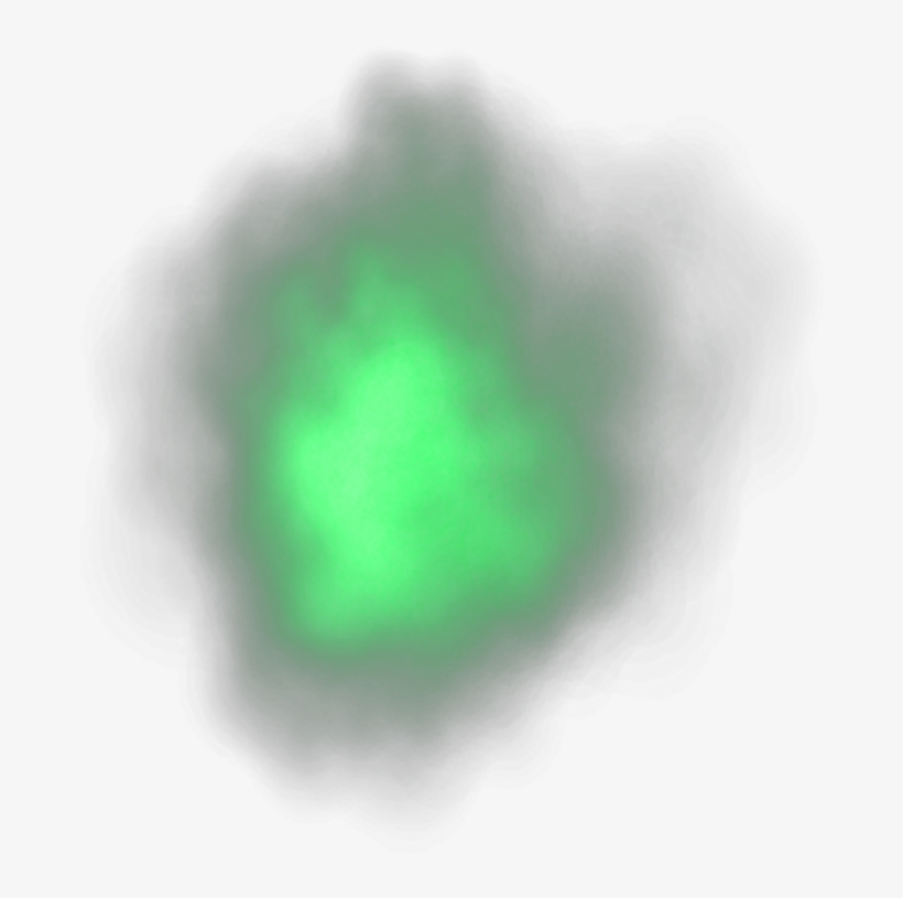 Ftestickers Mist Overlay Effect Green - Mist, transparent png #2916069