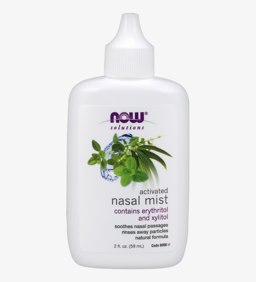 Nasal Mist, Activated - Now Foods Activated Nasal Mist - 2 Fl Oz, transparent png #2916422
