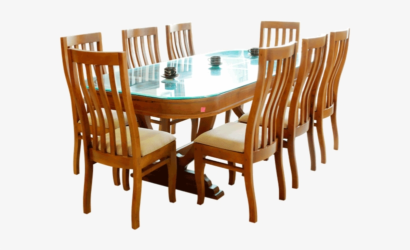 Chabros Dining Table - Dining Table With Chairs Png, transparent png #2917214