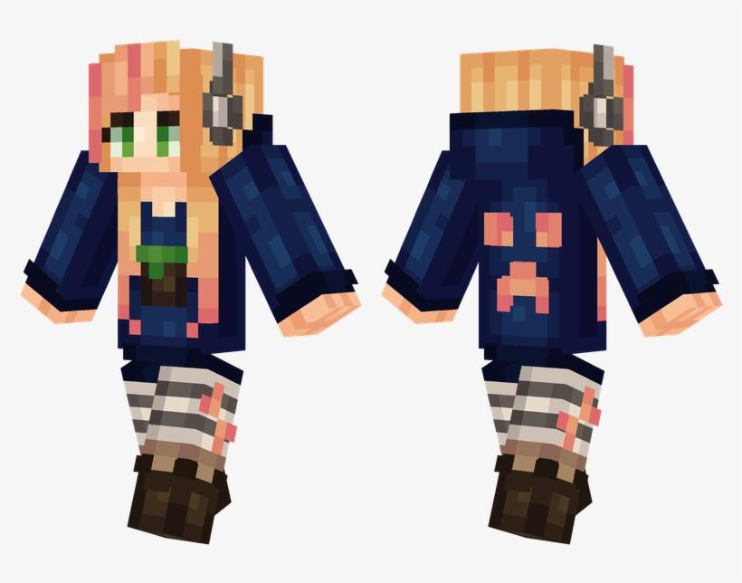 minecraft anime skin