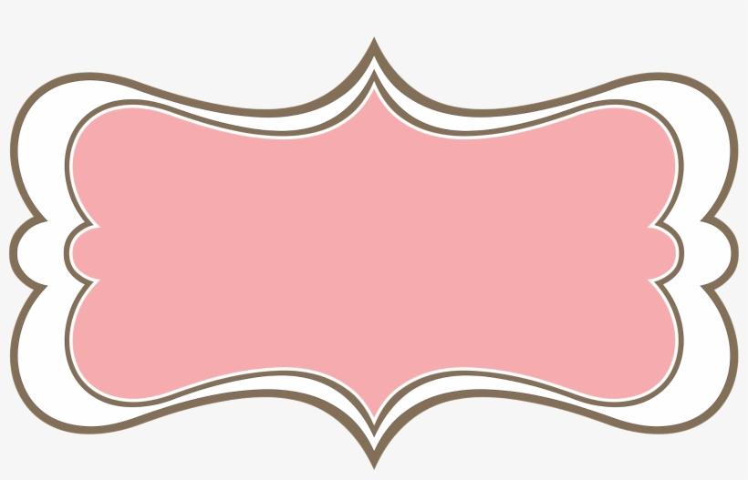 Pink Vintage Frame Png, transparent png #2918499