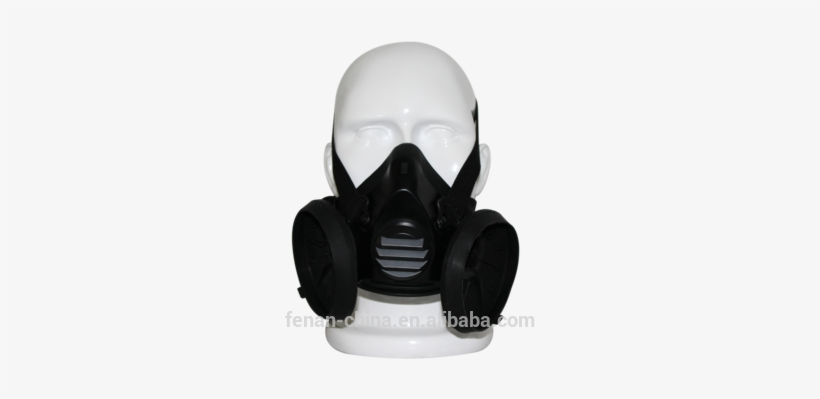 Double Canister Gas Mask Industrial Face Mask Half Gas Mask