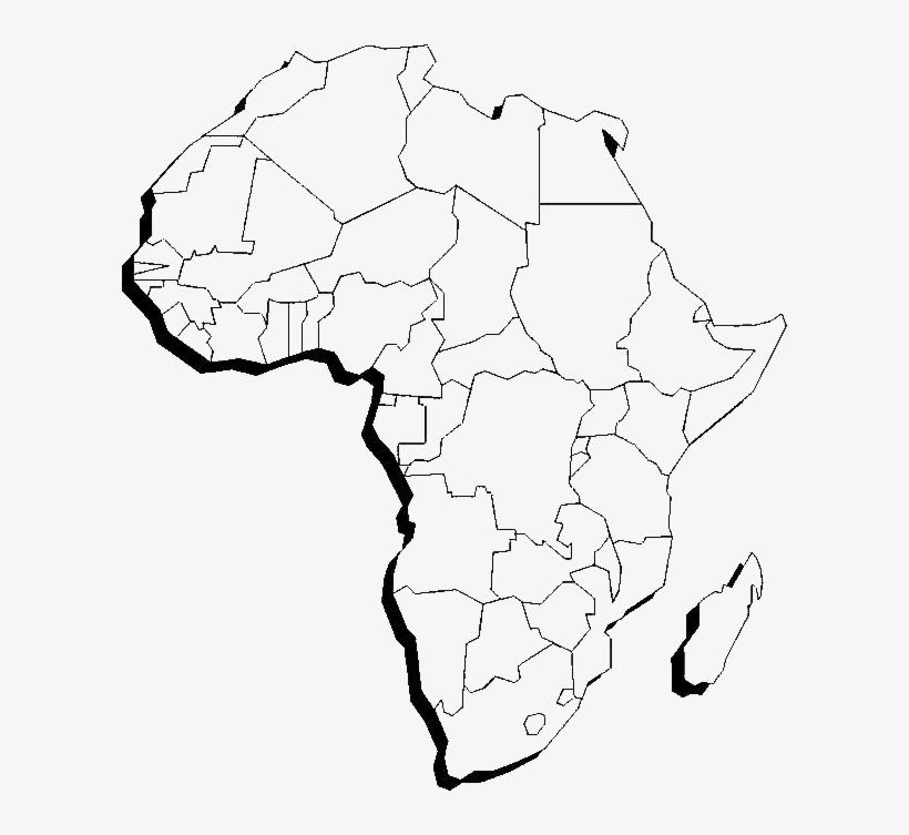 draw map of africa Africa Continent Map Drawing Free Transparent Png Download Pngkey draw map of africa