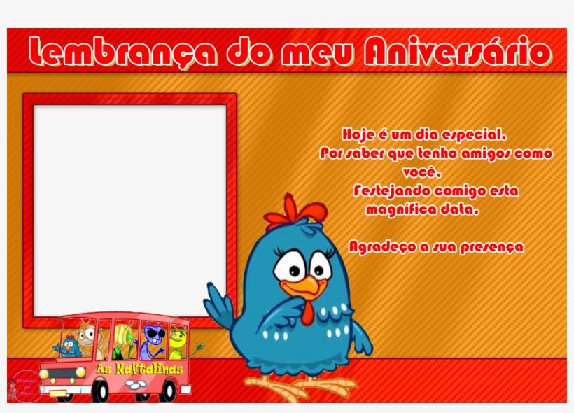 Kit Completo Com Molduras Para Convites, Rotulos - Moldura Da Galinha Pintadinha Para Lembrancinha, transparent png #2927476