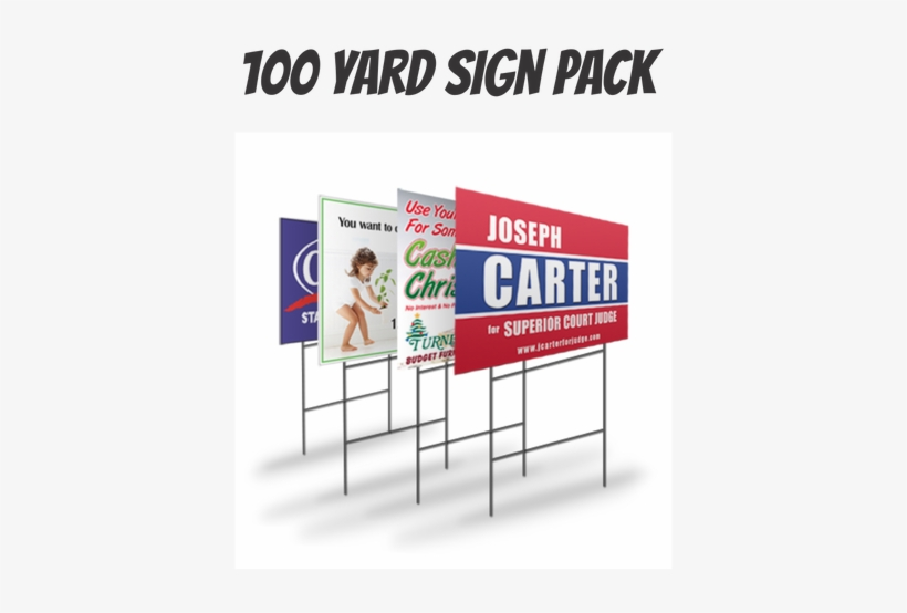 "18"" X 24"" Yard Signs Are A Great Way To Advertise Your - We Make Yard Signs, transparent png #2928981"