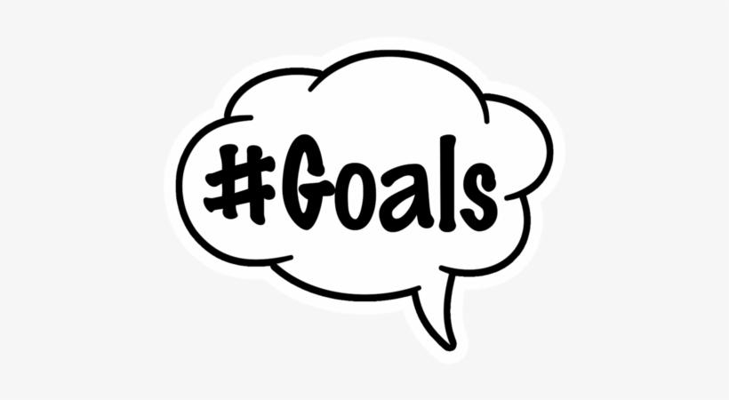 #goals/#dab Speech Bubble - Squad Goals Word Art, transparent png #2929513
